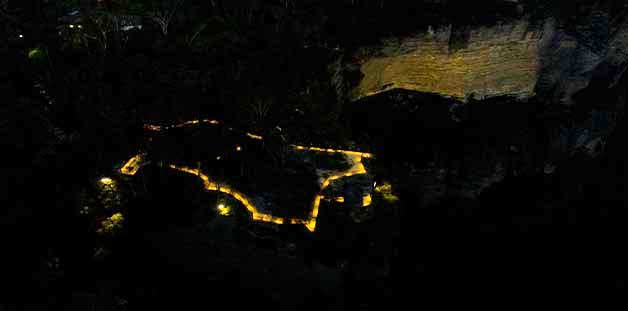 Katoomba Falls Reserve Night-lit Walk