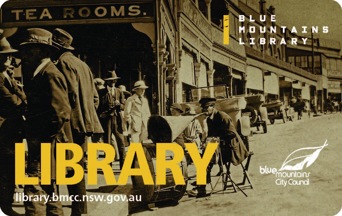 Library Card - One man band Katoomba.jpg
