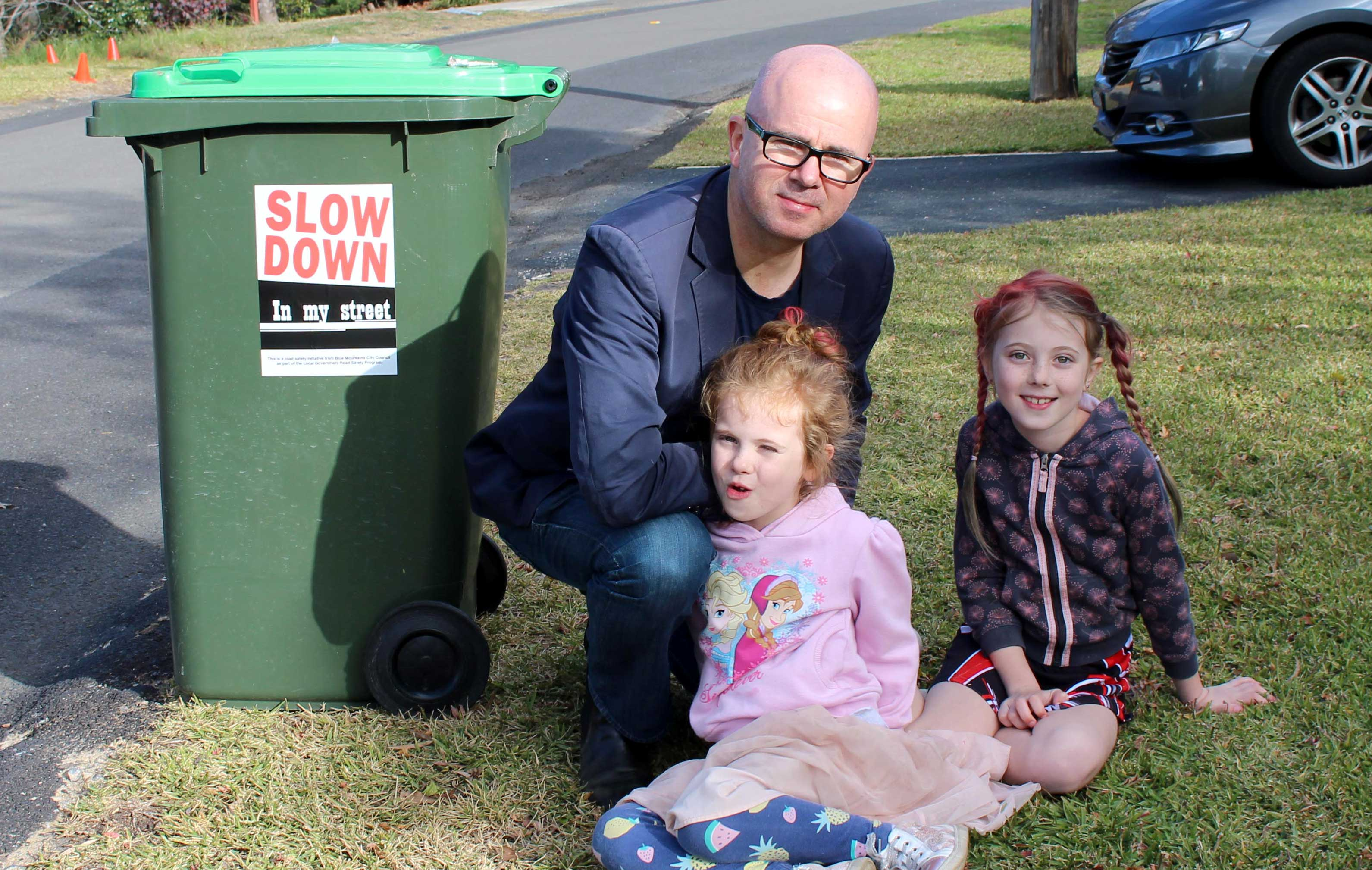 Keeping local roads safe - Slow Down In My Street | bmcc nsw