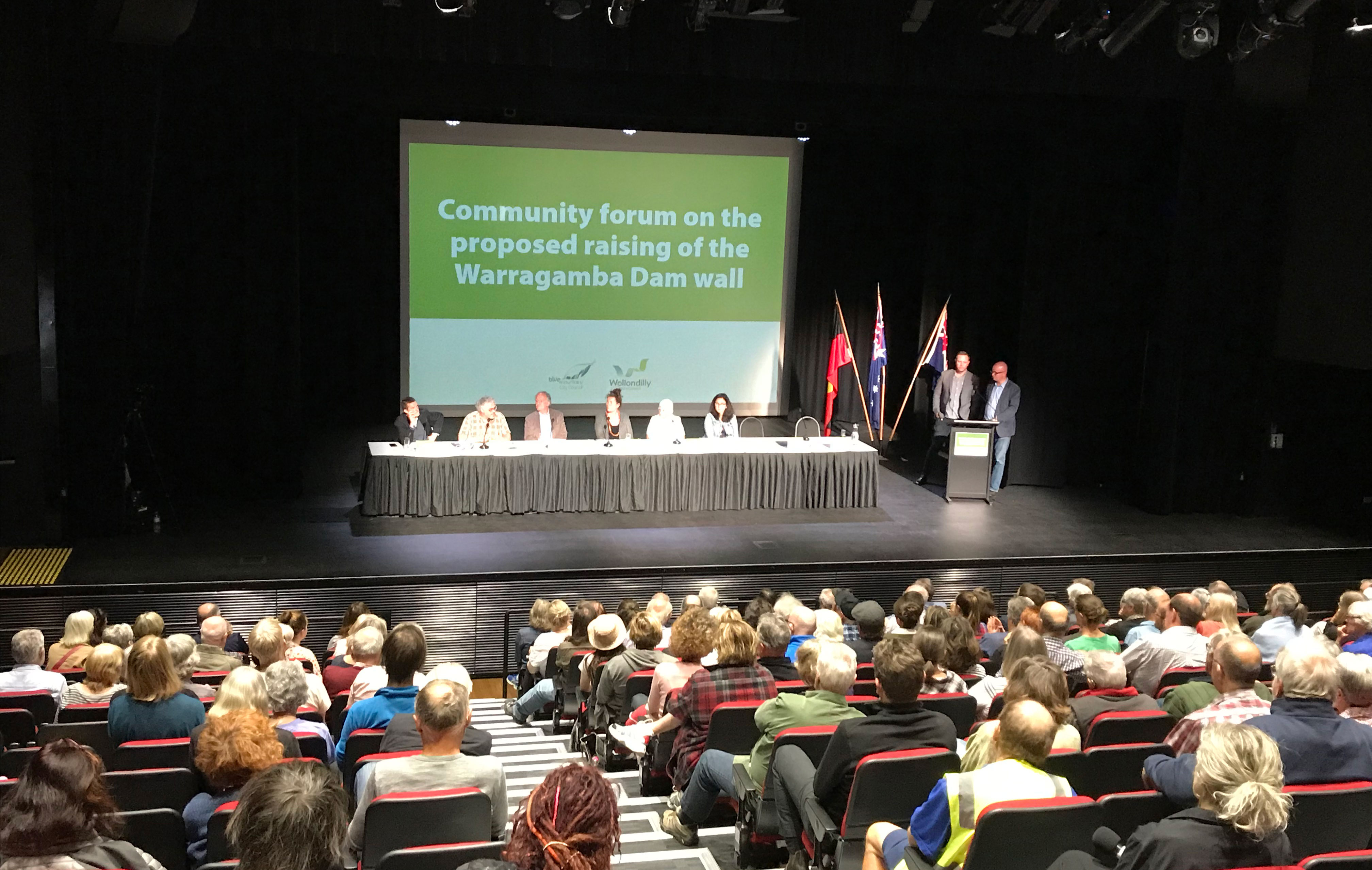 Community Forum on Warragamba Dam